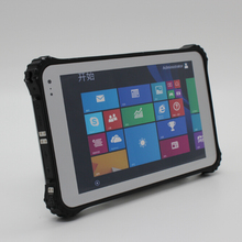 8 inch barcode fingerprint RFID rugged tablet pc, industry tablet pc, panel PC