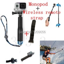 SP POV Pole Go Pro Camera Monopod Mount Adapter GoPro Monopod Professional Diving Pole For Gopro HD Hero3 3+ 4 Accessories
