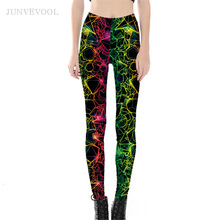 Buy Drop Ship Wholelsales Workout Leggings Women Gothic New Fashion Pencil Pant 3D Printed legins Punk Capris Ray leggins Girls Pant for $10.75 in AliExpress store