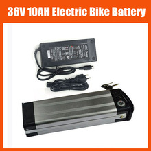36V Electric Bike battery 36V 10AH LiFePO4 battery Silver fish 36V E-bike e-scooter battery LFP with 2A charger TOP discharge