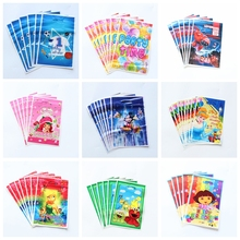50pcs/lot Party Supplies Gift Bag loot Bag Tinkerbell Sesame Street Cartoon Theme Party Festival&event Birthday Decoration Favor(China)
