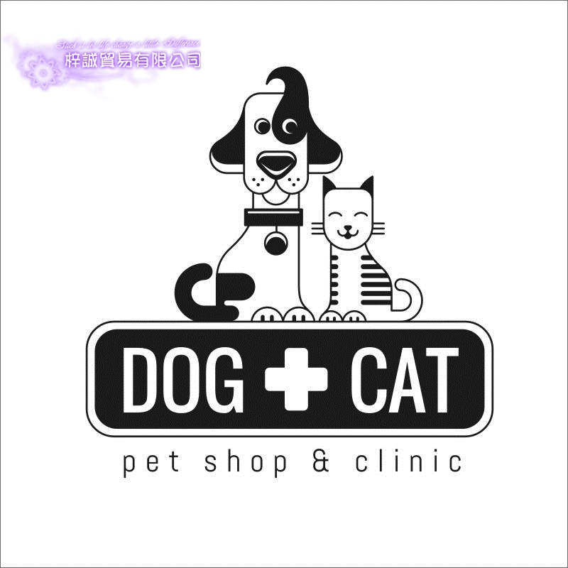 DCTAL Dog Grooming Salon Pet Clinic Shop Sticker Decal Posters Vinyl Wall Art Decals Parede Decor Mural Pet Shop Sticker