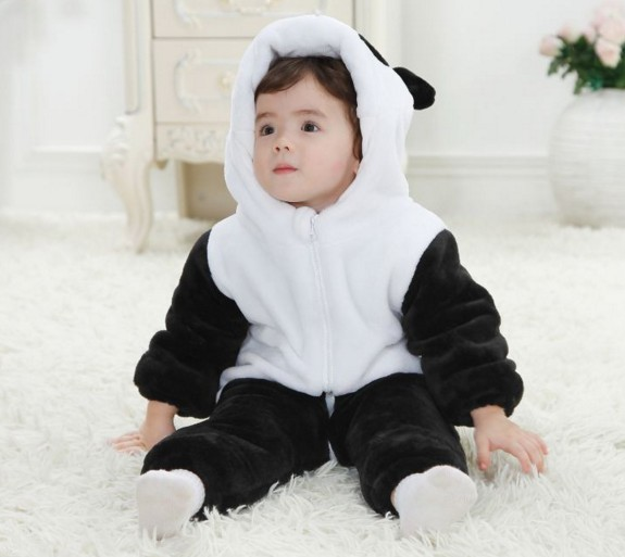 Children climb Winter Baby clothes thick flannel Jumpsuit animal other infant clothing wholesale<br><br>Aliexpress