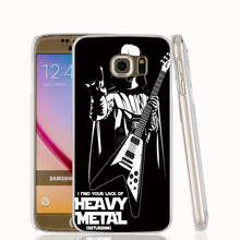 22419 Star Wars Darth Vader play Heavy Metal cell phone case cover for Samsung Galaxy S7 edge PLUS S6 S5 S4 S3 MINI