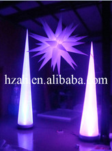 Colorful Inflatable LED Light Column/Inflatable Cone for Party Decororation(China)