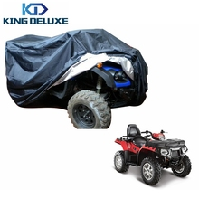 2015 Universal 190T XXL Size Quad Bike ATV ATC Waterproof Cover For Arctic Cat For Yamaha For Kawasaki KING DELUXE B25-3