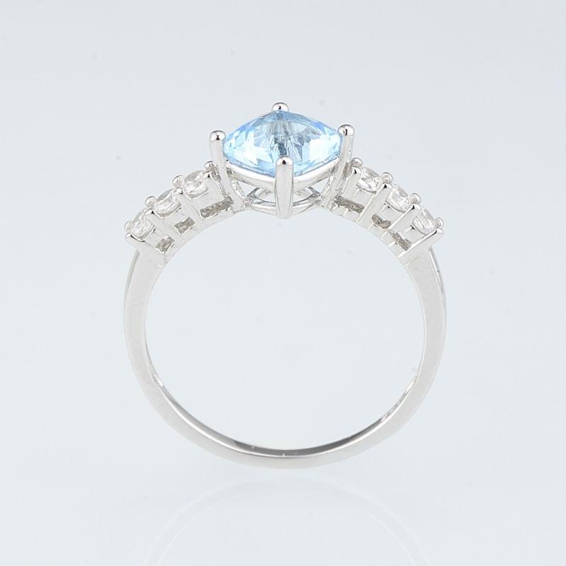 R301105BLGZSL925-SV2-Silver Ring