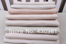 wholesale knitted organic cotton fabric natural baby clothing material