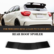 Carbon Fiber Rear Roof wing Spoiler for Mercedes Benz W176 A180 A200 A250 A260 A45 2013-2017 Tail Roof Window Lip Spoiler