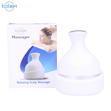 BOLIKIM Waterproofing Head Massager.Wireless Scalp Massager Prevent Hair Loss Promote Hair Growth Machine Tool(China)