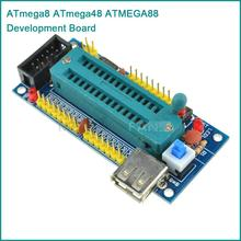 ATmega8 ATmega48 ATMEGA88 Development Board AVR (NO Chip) New
