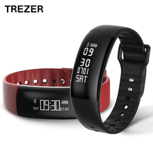 TREZER A69 Smart Bracelet Pedometer Heart Rate Smart Wristband Blood Pressure Monitor Fitness Tracker Smartband PK mi band 2