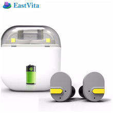 EastVita I8 True Wireless Bluetooth Earphone Earbuds Double Twins  Earphones for IPhone 7 for Xiaomi Smartphone IOS Android