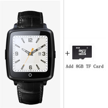 Leather Strap Bluetooth SmartWatch U11C Smart Watch Phone Support SIM Card,Video Play for IPhone/Samsung/Xiaomi Pk U8 GT08 DZ09