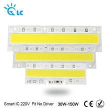 Smart IC COB LED Chip High Brightness 30W 50W 70W 100W 150W 220V Input Not Driver Fit For DIY Spotlight Outdoor Floodlight