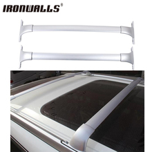 Ironwalls Roof Rack Cross Bar Top Roof Box Luggage cargo basket carrier ski attachment bike rack For Nissan Rogue 2014 2015 2016(China)