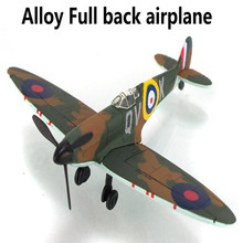 World War II Classic Aircraft, alloy Full back Airplane model Toy Vehicles , Diecasts Airplanes toys, free shipping