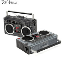 1Pcs Retro Vintage Classic Radio Movie Props Old Crafts Ornaments Home Office Bar Decoration Crafts Birthday Christmas Gifts