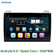 Aoluoya Quad Core Android 6.0 CAR DVD GPS Player For Toyota Land Cruiser 120 Prado 120 2002-2010 CAR Stereo Radio AUDIO WIFI 3G(China)