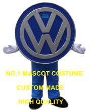 car logo mascot costume adult size wholesale custom commercial advertising costumes walking dolls performing fancy dress 2923