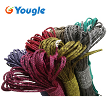 YOUGLE New Colors Arrival Paracord 550 Paracord Parachute Cord Lanyard Rope Mil Spec Type III 7 Strand 50-100 FT 207 colors(China)