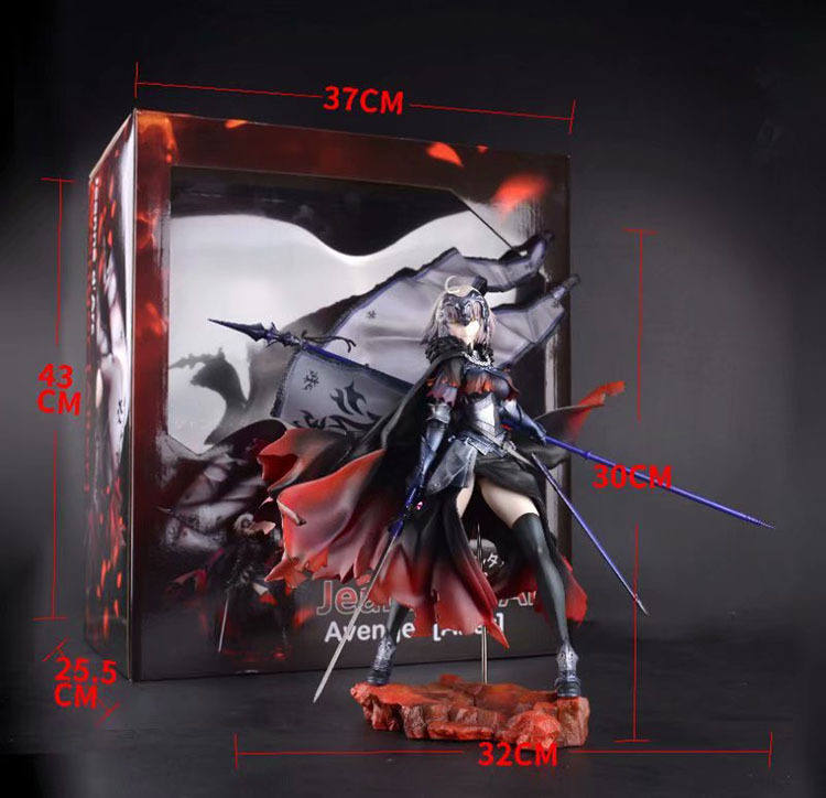 Anime Fate Grand Order Avenger Jeanne d\`Arc Alter Figma 390 Cute Action Figures PVC Doll Collection Model Toys Gifts (2)