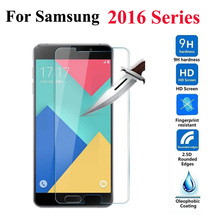Tempered Glass 9H Screen Protector for Samsung For Galaxy S3mini S4mini A3 A310 A5 A510 A7 A710 A8 A9 J1 mini J2 J3 J5 J7 2016