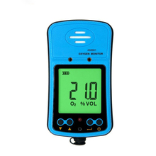 AS8901 portable oxygen measuring instrument oxygen detector O2 tester concentration detector LCD display Gas Analyzer Alarm