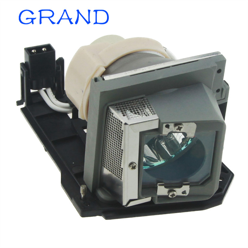 330-9847/725-10225 Replacement Projector Lamp with Housing for DELL S300 / S300W / S300Wi Projectors HAPPY BATE<br>
