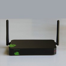 quad core rk3128 with double antenna strong wifi single support 1080p android tv Box for sale HYH-TBR805