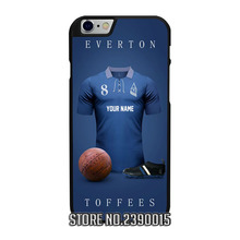 Custom EVERTON Soccer Jersey Cover Case for IPhone 4 4s 5 5s 5c se 6 6s 7 plus Sony Z Z1 Z2 Z3 Z4 Z5 C3 C4 C5 M2 M4 T3 X XA(China)