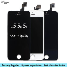 Mobile Phone LCD Display with Touch Screen Digitizer Assembly No Dead Pixel For iPhone 5 5c 5S 4 4S LCD aaa+++Quality(China)
