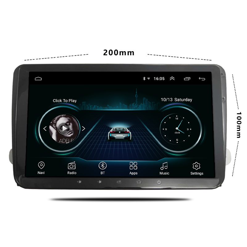Universal 9 Inch Car audio Player Radio Android 8.0 2din Touch Screen Car Multimedia Player With Ultra Thin Body For VW