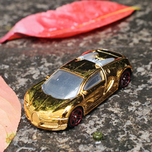 1:64 Sports car Bugatti Veyron Alloy car model metallic material Suitable for modification Children's toys Decoration