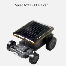 Funny Toys Children Insect Bug Cute Educational Solar powered Cockroach Toy Gadget Gift little car Energy Locust Solar Power