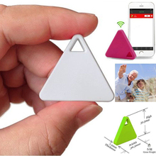 Ultra-thin Triangles Smart Bluetooth Tracker FinderTag Child Bag Wallet Key Alarm GPS Locator Device(China)
