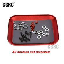 Buy New Aluminium Alloy Magnetic Screw Tray Plate RC Car Truck RC Model Repair Tool for $5.69 in AliExpress store