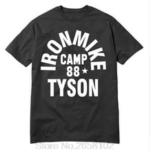 2017 Fashion Iron Mike Camp 88 Tyson tops tees O-Neck Fashion t shirts Men Cotton T-shirt Hop Hip shirt