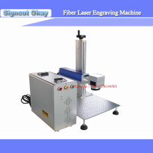 Fiber Making Laser Machine 20W 150*150mm Jewelery Ring Laser Engraving Cutting Machine Gold/Silver Laser Engraving  system
