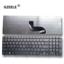GZEELE  New Laptop Keyboard for Gateway NV59C NEW90 PEW96 Packard Bell NEW95 NV50A NV53A NV59C NV79C NV50 US Replacement black
