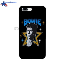 David Bowie For Iphone Cases 7 Anti-Knock Soft TPU For Iphone 8 Plus Case Protect Back Covers For Iphone 6/6s/7 Plus/6s Plus(China)