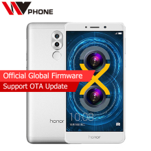 Global Firmware Original Huawei Honor 6X 3GB RAM 32GB ROM 5.5'' LTE Mobile Phone Octa Core Android 7.0 Dual Rear Camera
