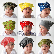 baby hat children kids boys and girls cotton cap newborn photography props winter funny accessories gorro 2015 wholesale