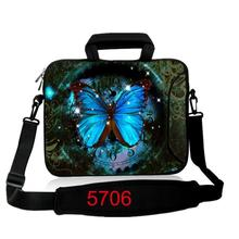 BlueButteryfly  laptop Messenger Bag neoprene notebook handle sleeve bag PC handbag 17 inch 15.6 14 13 12 10 For Ipad Asus Acer