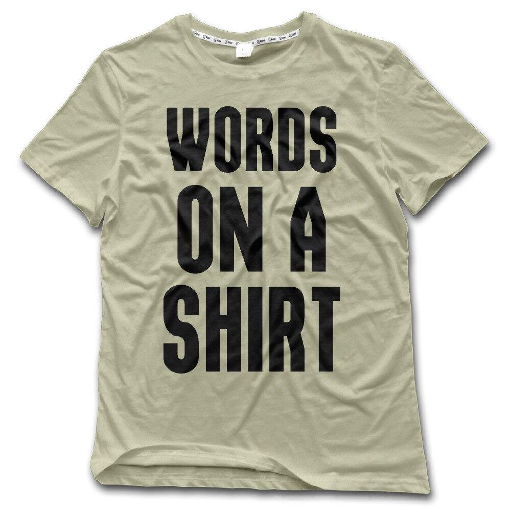 Design t shirt embroidery - Design T Shirt Words Latest Words On A Shirt Printed T Shirt Man Fashion Design