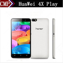 "Original HuaWei Honor 4X Play 4G LTE Mobile Phone Snapdragon 410 Quad Core Android 4.4 5.5"" IPS 1280X720 2GB RAM 8GB ROM 13.0MP(China)"