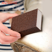 1pc High Density Nano Emery Magic Sponge Super Strong Kitchen Removing Rust Sponge Eraser Descaling Cleaning Sponge Tools(China)