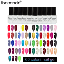 IBCCCNDC Soak Off Gel Nail Polish UV LED Nail Gel Polish Gelpolish Vernis Semi Permanent Nails Art Design Gel Varnishes Gel Lak