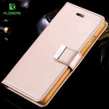 FLOVEME For iPhone 6 / 6 Plus Wallet Pouch Fashion Women Flip Leather Case For iPhone 6 6S 6 / 6s Plus Wallet Card Slot Cover