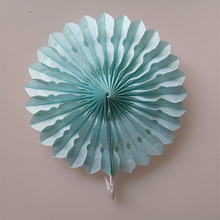 New Year Decorations 20cm Hollow Out Paper Folding Fan DIY Wedding Party Birthday Kids Supplies Paper Fan Flowers Bady Shower